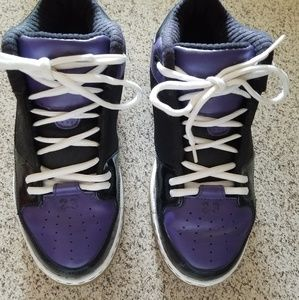 Youth Jordan's- Purple/Black/White